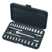 Socket Set ¼