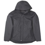 Site Birch Funnel Neck Work Jacket Black Medium 40-41