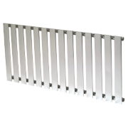 Reina Pienza Horizontal Designer Radiator Chrome 550 x 1165mm 2246BTU