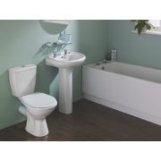 Grove Modern Bathroom Suite with Acrylic Bath