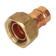 Yorkshire Solder Ring Straight Tap Connector YPS62 15mm x ¾
