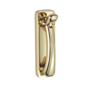 Carlisle Brass Door Knocker Polished Brass 135mm