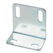 Large Angle Shrinkages Zinc-Plated 48 x 25 x 1.6mm Pack of 10
