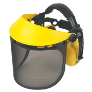 Browguard with Ear Defenders Yellow
