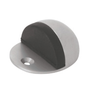 Oval Door Stops Satin Pack of 2