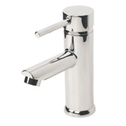 Swirl Essential Mono Bathroom Basin Mixer Tap with Pop-Up Waste