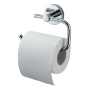 Aqualux Haceka Kosmos Toilet Roll Holder Chrome 140 x 106 x 106mm