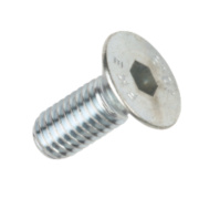 BZP Countersunk Head Socket Screws M6 x 16mm Pack of 50