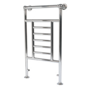 Traditional Victorian Towel Radiator Chrome 914 x 535mm 198W 676Btu
