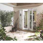 Jeld-Wen Wellington Slide & Fold Patio Door Set White 1794 x 2094mm