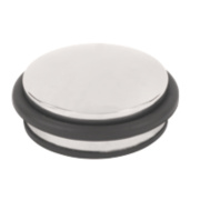 Dome Dome Weight Door Stop Polished Stainless Steel