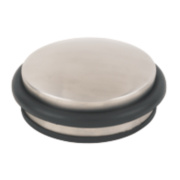 Dome Dome Weight Door Stop Satin Stainless Steel