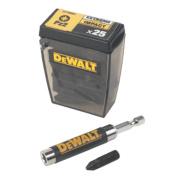 DeWalt Impact Driver Bit Box PZ#2 26Pcs