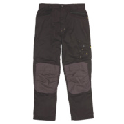 Site Boxer Workwear Trousers Black/Grey 40