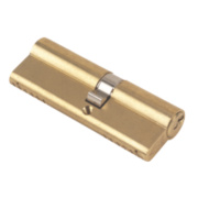 Yale 6-Pin Euro Cylinder Lock BS 40-50 (90mm) Polished Brass