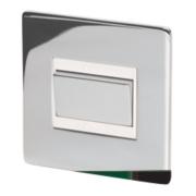 LAP 10A 3-Pole Fan Isolator Switch Polished Chrome