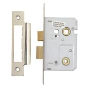 Carlisle Brass Easi-T Bathroom Lock Nickel-Plated 22 x 64mm
