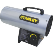Stanley ST-50-GFA-E Black/Yellow LPG Fan Heater 16.1kW