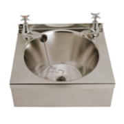 Franke Model B Wall-Hung Washbasin 2 Taps S/Steel 1 Bowl 340 x 185mm