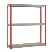 Heavy Duty Shelving 2400 x 600 x 1980mm