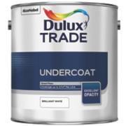 Dulux Trade Trade Undercoat Brilliant White 2.5Ltr