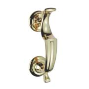 Carlisle Brass Door Knocker Brass 69mm