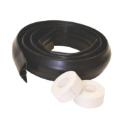 Tower Cable Concealer Large 60mm x 1.8m Black