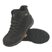 APACHE VIBRAM SAFETY TRAINER BOOTS BLACK SIZE 9