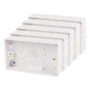 LAP 2G Moulded Box 28mm Pack of 5