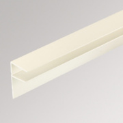 Corotherm PVC Side Flashing White x 16 x 4000mm Pack of 2