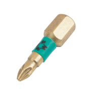 Wera BiTorsion Diamond Bit Pozi #1 25mm