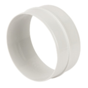 Manrose Round Connector White 120mm