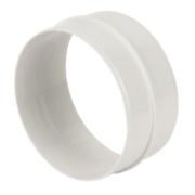 Manrose Round Connector White 120mm