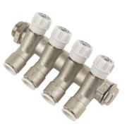 JG Speedfit JGMAN4 4-Way Modular Manifold Brass ¾