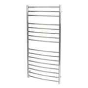 Reina EOS Curved Ladder Towel Radiator S/Steel 1200 x 600mm 754W 2570Btu