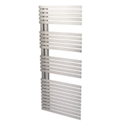 Reina Entice Vertical Designer Radiator Stainless Steel 1200x500mm 2734BTU
