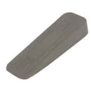 Rubber Door Wedge Grey Pack of 5
