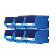 Wall Mountable Bin Kit 3 - 6 x TC3 Bins