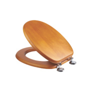 Croydex Sit-Tight Douglas Toilet Seat Pine Antique-Effect