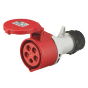 380-415V MK Commando Interlocked Straight Socket 3P+E+N (IP44)