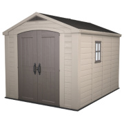 Keter Apex Shed Plastic 8 x 11 x 7' (Nominal)