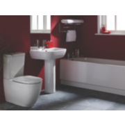 St Ives Contemporary Bathroom Suite with Classic Acrylic Bath