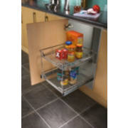 Hafele Pull-Out Storage Unit 500mm Stainless Steel