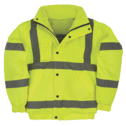 Hi-Vis Bomber Jacket Yellow Large 52½