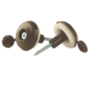 Corotherm Fixing Buttons Brown 25mm Pack of 10