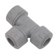 PolyPlumb Equal Tees 15mm Pack of 10