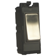Varilight Z2DG102SS 10A 2-Way Switch Metal