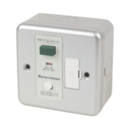 SafetySure 13A RCD Fused Spur Metal Clad