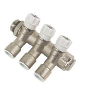 JG Speedfit JGMAN3 3-Way Modular Manifold Brass ¾