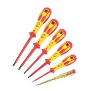 C.K Dextro VDE Screwdriver Set SLP/PZD 6Pcs